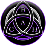 Logo for British Academy of crystal healing